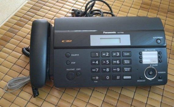Thông tin về máy Fax.