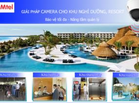 Lắp đặt camera quan sát khu nghỉ dưỡng, resort