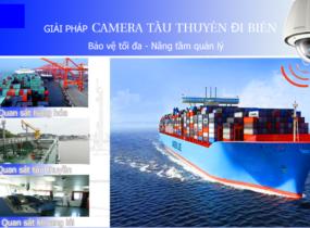 Lắp đặt camera quan sát cho tàu thuyền