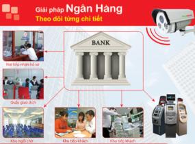 Lắp đặt camera quan sát cho ngân hàng
