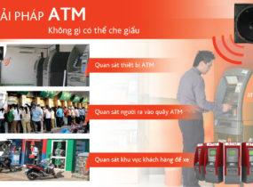 Lắp đặt camera cho các trạm ATM