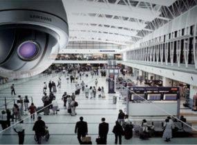 Lắp đặt camera IP quan sát tại sân bay