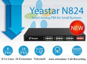 Tổng đài Yeastar N824