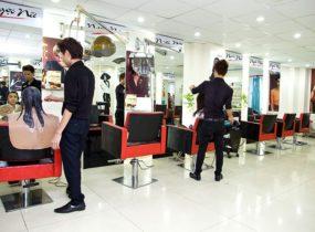 Lắp đặt camera quan sát cho salon tóc