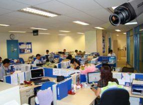 Lắp camera quan sát cho văn phòng
