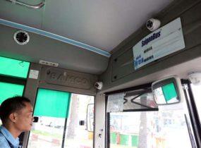 Lắp camera quan sát cho xe khách xe buýt